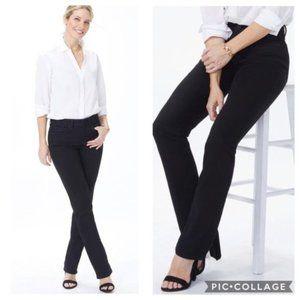 NYDJ Women's Marilyn Straight Leg Jeans in Black